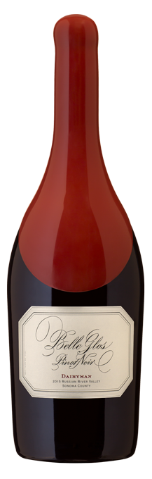 Belle Glos Dairyman Pinot Noir magnum bottle shot