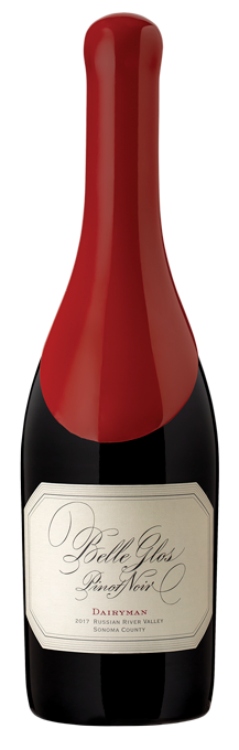 Belle Glos Dairyman Pinot Noir bottle shot